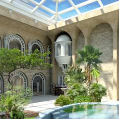 Residences  : classic Pool by S Squared Architects Pvt Ltd