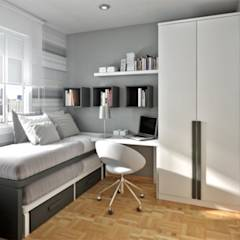 Boys Bedroom: minimalistic Bedroom by GSI Interior Design & Manufacture