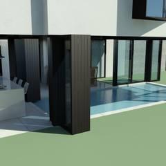 Villa de Monte: DDS 건축디자인의 translation missing: kr.style.수영장.modern 수영장
