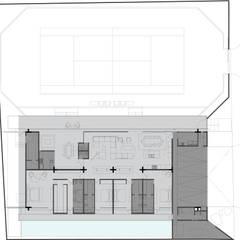 CASA G: Casas de estilo moderno por MAT Latinamerica