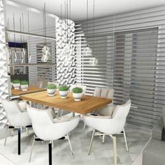Jantar: Salas de jantar modernas por Studio²