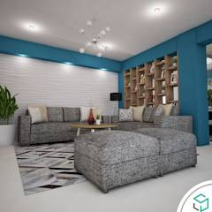 Sala: Salas / recibidores de estilo moderno por Spacio5