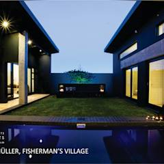 House Meuller: modern Pool by Coetzee Alberts Architects