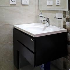 Remodelación baño: Baños de estilo moderno por Remodelar Proyectos Integrales