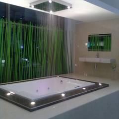 Gallery / Work in Progress: modern Bathroom by DRIFTWOOD INTERIORS
