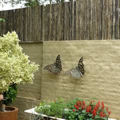 """LATTE"" SCREEN: rustic Houses by Oxford Trellis"