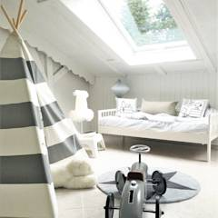 kinderzimmer im landhausstil homify. Black Bedroom Furniture Sets. Home Design Ideas