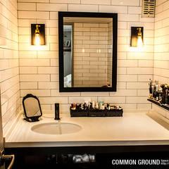 31평형 성수동 현대아파트: 커먼그라운드의 translation missing: kr.style.침실.industrial 침실