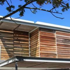 Wester Red Cedar Cladding: rustic Windows & doors by Window + Door Store Cape