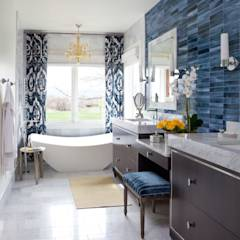 Elegant Modern and Timeless: classic Bathroom by Andrea Schumacher Interiors