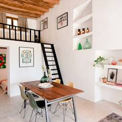 Ibiza Campo - Guesthouse: mediterranean Living room by Ibiza Interiors - Nederlandse Architect Ibiza
