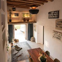 Ibiza Campo - Guesthouse: mediterranean Bedroom by Ibiza Interiors - Nederlandse Architect Ibiza