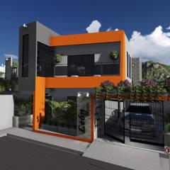 León House: Casas de estilo moderno por Guayoyo ArqStudio