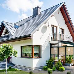 Jardines de invierno de estilo moderno por BIURO PROJEKTOWE MTM STYL