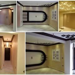 Mr. Mohamed Appartment: translation missing: eg.style.غرفة-المعيشة.classic غرفة المعيشة تنفيذ Etihad Constructio & Decor
