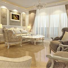 Classic reception: translation missing: eg.style.غرفة-المعيشة.classic غرفة المعيشة تنفيذ Boly Designs