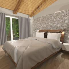 Camera da letto in stile rustico idee homify for 4 piani di camera da letto 2 piani