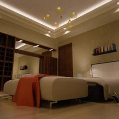 العبور: translation missing: eg.style.غرفة-نوم.modern غرفة نوم تنفيذ Reda Essam