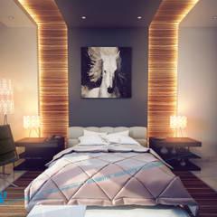 sample: translation missing: eg.style.غرفة-نوم.modern غرفة نوم تنفيذ triangle