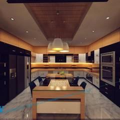 sample: translation missing: eg.style.مطبخ.modern مطبخ تنفيذ triangle