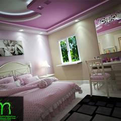 bedroom: translation missing: eg.style.غرفة-نوم.classic غرفة نوم تنفيذ EL Mazen of Finishes and Trims