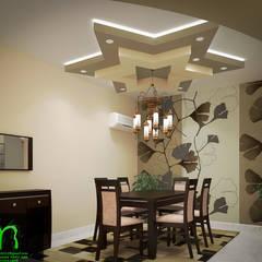 dining room: translation missing: eg.style.غرفة-السفرة.modern غرفة السفرة تنفيذ EL Mazen of Finishes and Trims