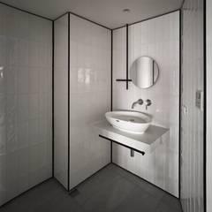 Vivid Color  重彩: translation missing: tw.style.浴室.minimalist 浴室 by 水相設計 Waterfrom Design