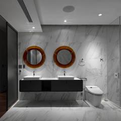 Timeless  慢行: translation missing: tw.style.浴室.minimalist 浴室 by 水相設計 Waterfrom Design