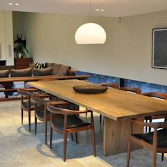 Lee Ann & Marcus' House: modern Dining room by www.mezzanineinteriors.co.za