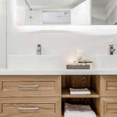 流白: translation missing: tw.style.浴室.scandinavian 浴室 by 潤澤明亮設計事務所