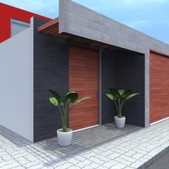 VIVIENDA UNIFAMILIAR: Casas de estilo minimalista por TECTONICA STUDIO SAC