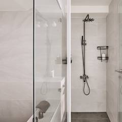 台中米蘭: translation missing: tw.style.浴室.scandinavian 浴室 by 思維空間設計
