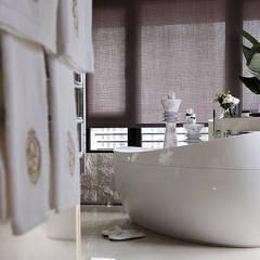 【大明大放   Bright, Open space】: translation missing: tw.style.浴室.modern 浴室 by 天坊室內計劃有限公司 TIEN FUN INTERIOR PLANNING CO., LTD.