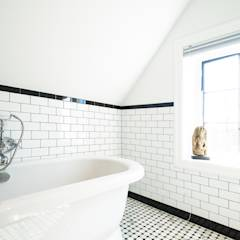 Edwardian Renovation: modern Bathroom by Solares Architecture