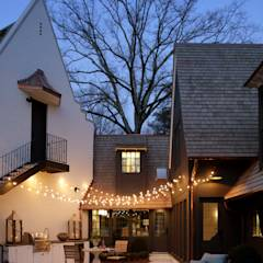 Ridgeview Showhouse: eclectic Pool by Christopher Architecture & Interiors