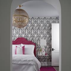 Ridgeview Showhouse: eclectic Bedroom by Christopher Architecture & Interiors