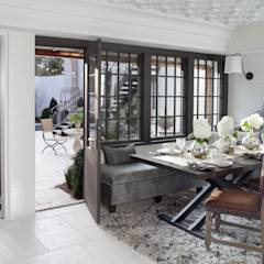 Ridgeview Showhouse: eclectic Dining room by Christopher Architecture & Interiors