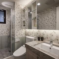收藏精品宅: translation missing: tw.style.浴室.country 浴室 by 你你空間設計