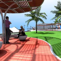 : Piscinas de estilo moderno por Paz Ingenieros & Arquitectos