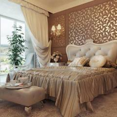 غرفة نوم: translation missing: eg.style.غرفة-نوم.classic غرفة نوم تنفيذ القصر للدهانات والديكور