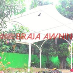 Tenda Membrane taman publik: translation missing: id.style.taman.modern Taman by Braja Awning