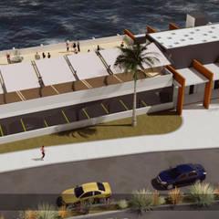 Remodelación Centro Convenciones Hotel Gavina Iquique: Centros para Congresos de estilo translation missing: cl.style.centros-para-congresos.moderno por Arq6.0