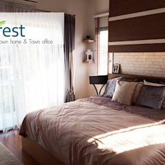 The 4 Rest: translation missing: th.style.ห-องนอน.colonial ห้องนอน by ai plus architect and interior design
