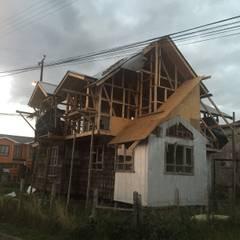 CONSTRUCCIÓN 1: Casas de estilo rural por GerSS Arquitectos