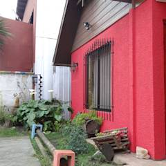 Fachada Principal: Casas de estilo asiático por Feng Shui y Arquitectura