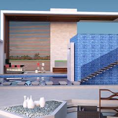 House Ali: modern Pool by STENA ARCHITECTS