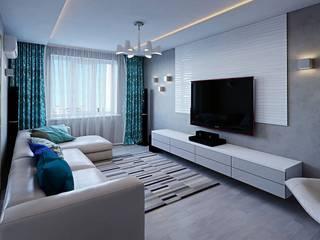 modern Living room by hq-design