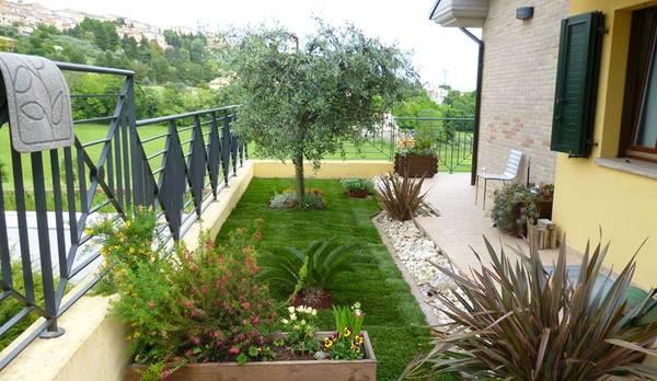 giardino moderno idee mozzafiato : Design : giardino pensile moderno Giardino Pensile along with Giardino ...