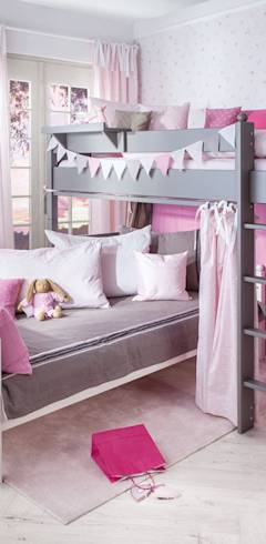 kinderzimmer f r zwei kinder. Black Bedroom Furniture Sets. Home Design Ideas