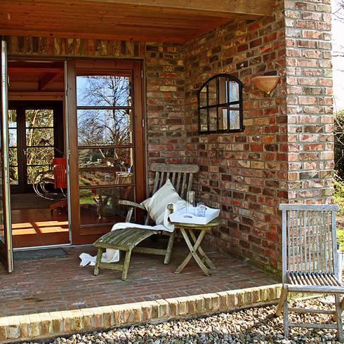 Porche y jard n - Valsain porche y jardin ...
